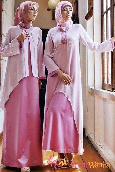 Model Baju Muslim Untuk Pesta Terbaru 2015 Muslimah Fashion Hijab Style Niqab Pinterest