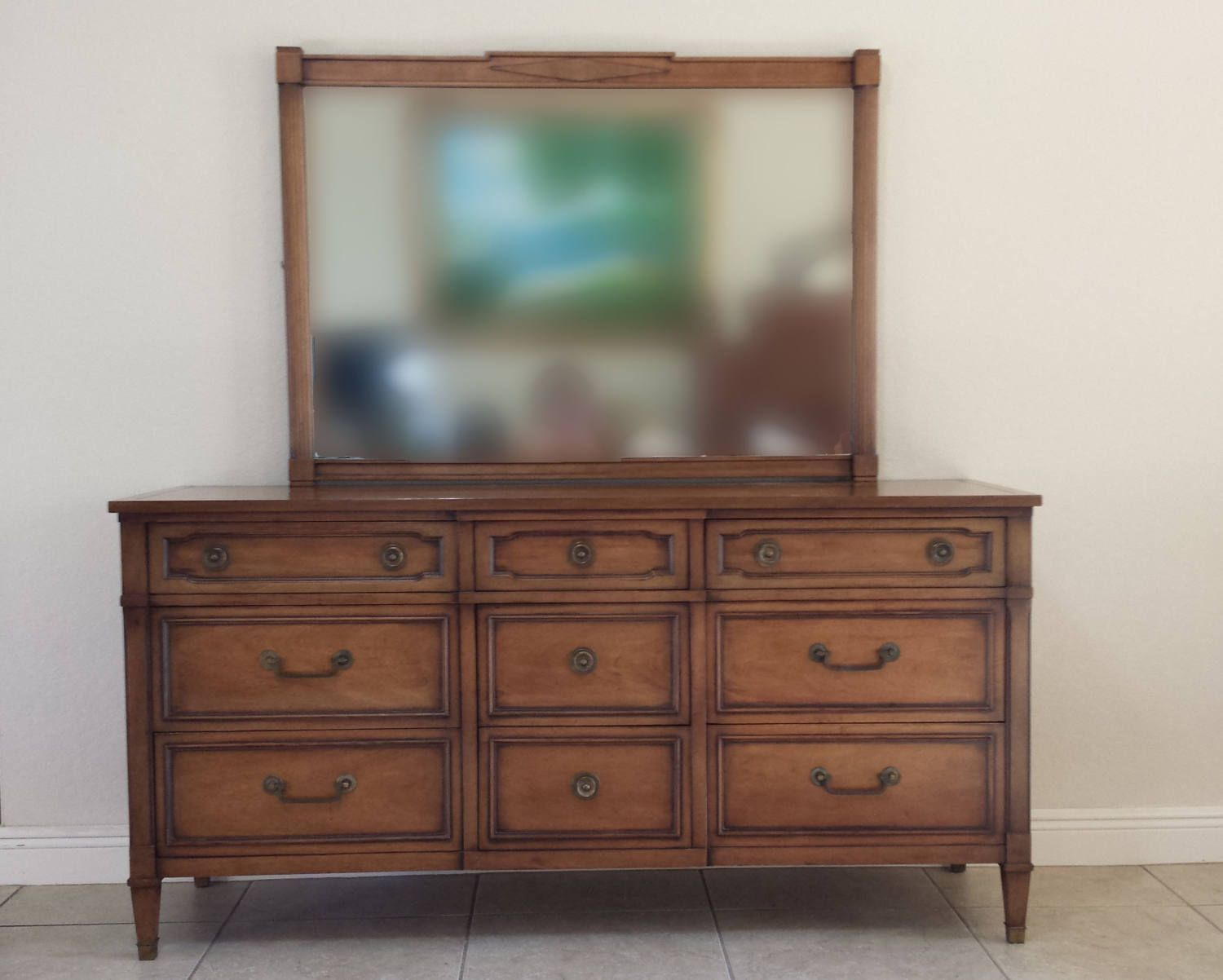 Drexel Truine Mahogany Dresser And Mirror By Degfurnituredesigns On Etsy