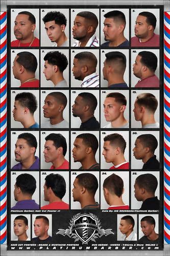 100 cool short haircuts for men 2017 update - Black Men Hairstyles Chart Fadesincuts Pinterest