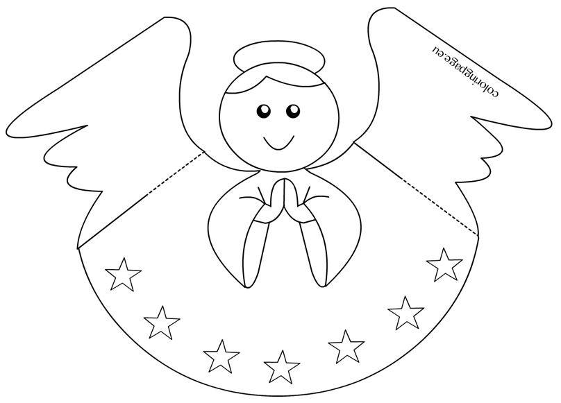 Шаблоны ангелов для открытки, доброте между