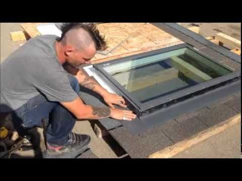 Md Skylight Repair How To Fix A Skylight Leak Youtube Skylight Roof Repair Glass Roof