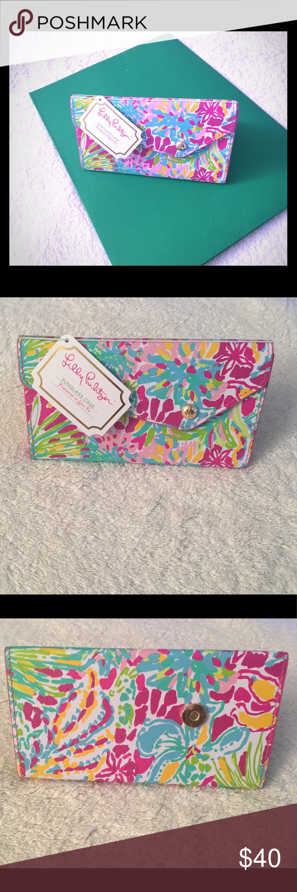 8eed7d9eed I just added this listing on Poshmark  Lilly Pulitzer Sunglass Case