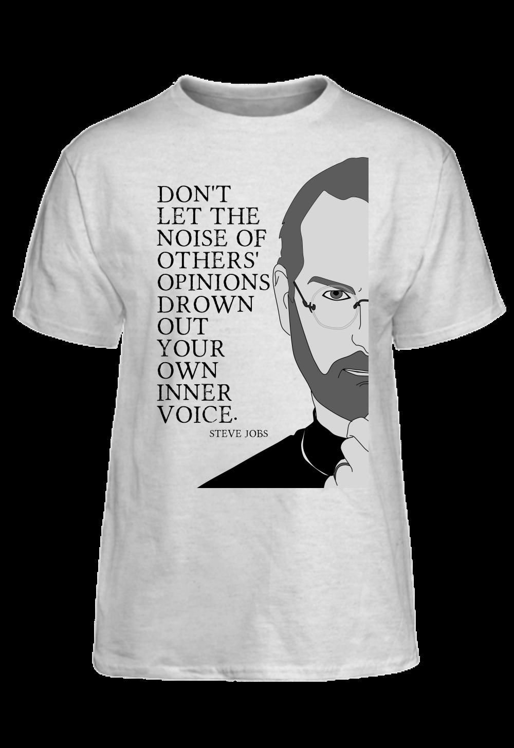 Steve Jobs Quote Inner Voice Basic Tee Steve Jobs Quotes Steve Jobs Inner Voice