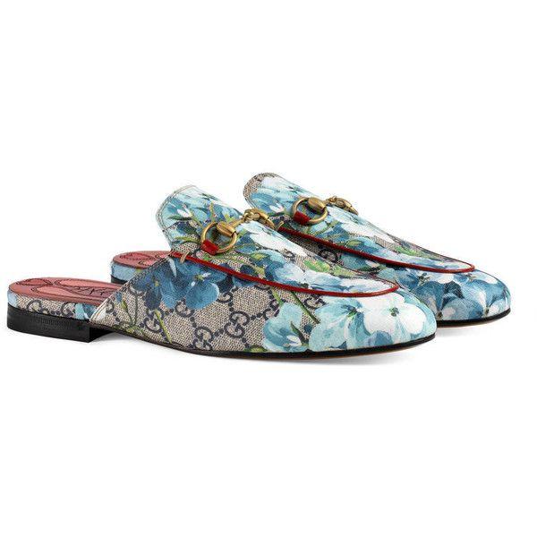 ab7a9546d08 Gucci Princetown Gg Blooms Slipper (1