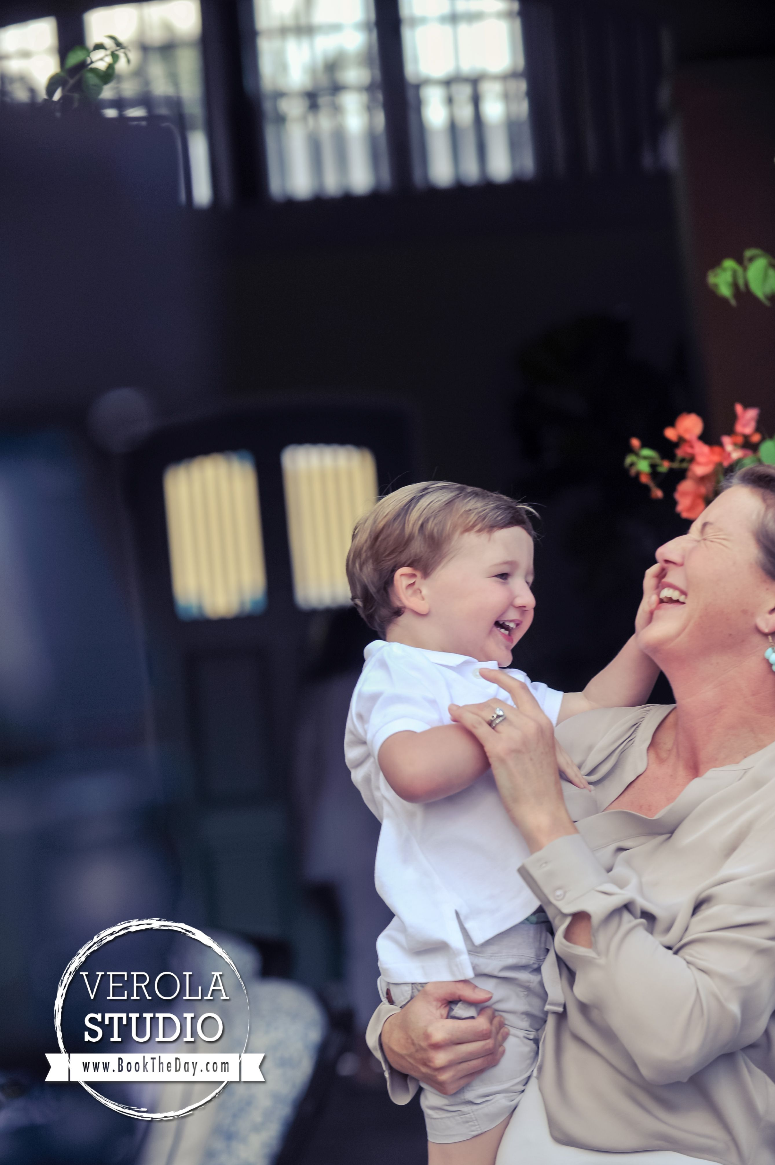 Every grandmother deserves a photo like this! #grandchild #grandma #family #photography #love #joy #laughter #verolastudio #candid