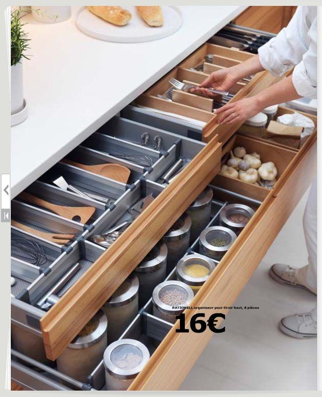 Discussion cuisine ikea - Ikea rangement cuisine tiroir ...