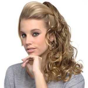 To create the 2014 simple side ponytail hairstyle you need curling ...