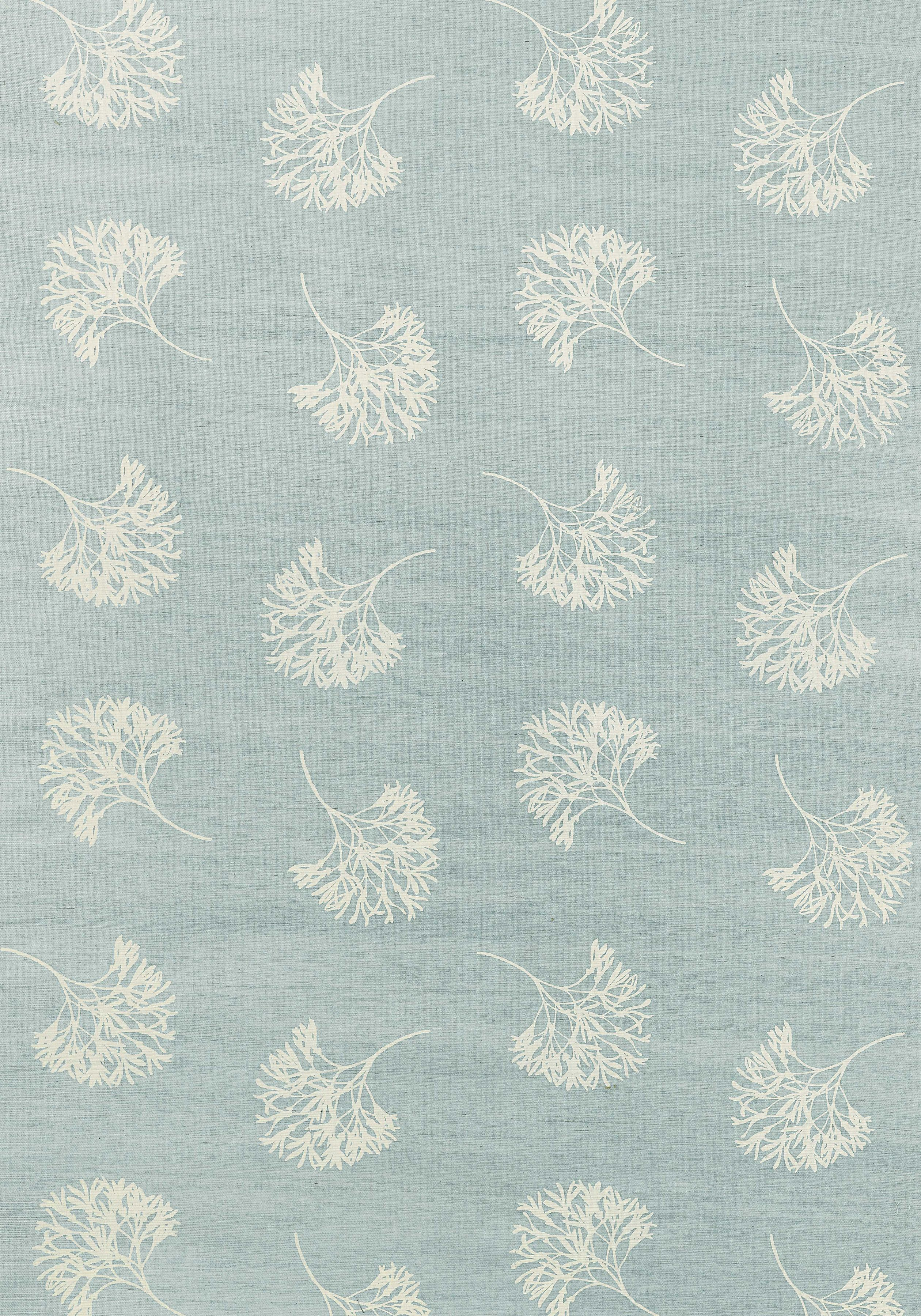 ANDROS, Cream on Aqua, T3626, Collection Grasscloth Resource 2 from ...
