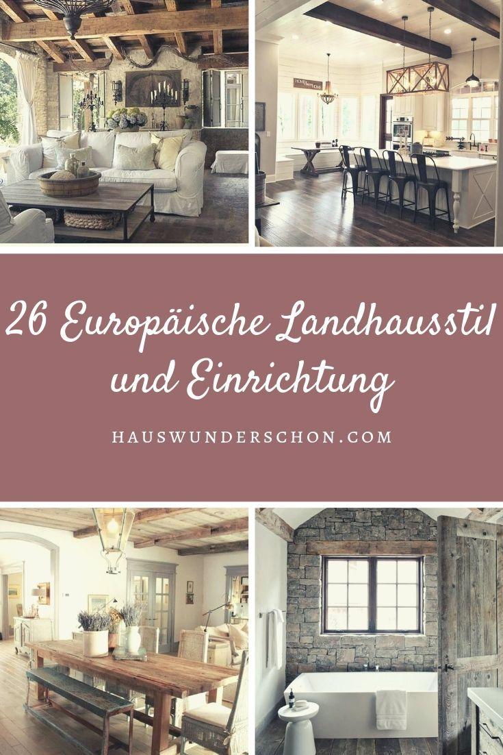 26 Europäische Landhausstil und Einrichtung #landhausstildekoration