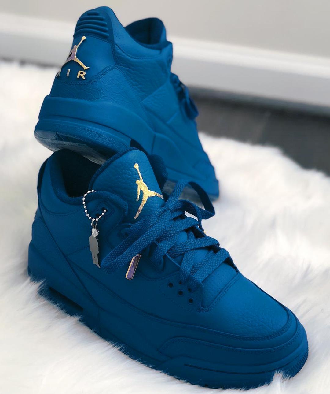 Air Jordan 3s Sneakers fashion, Blue jordans, Womens