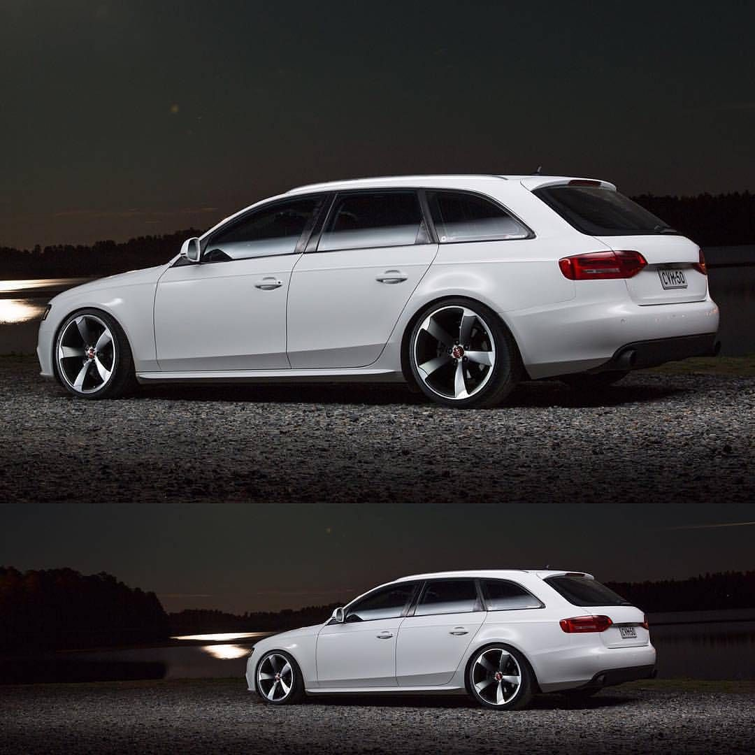 clean stance audi a4 b8 avant w o w pinterest. Black Bedroom Furniture Sets. Home Design Ideas