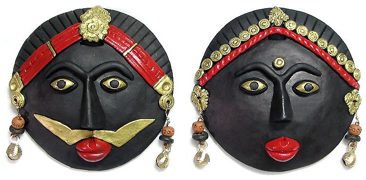 Indian Tribal Mask Wall Hanging Masks In 2019