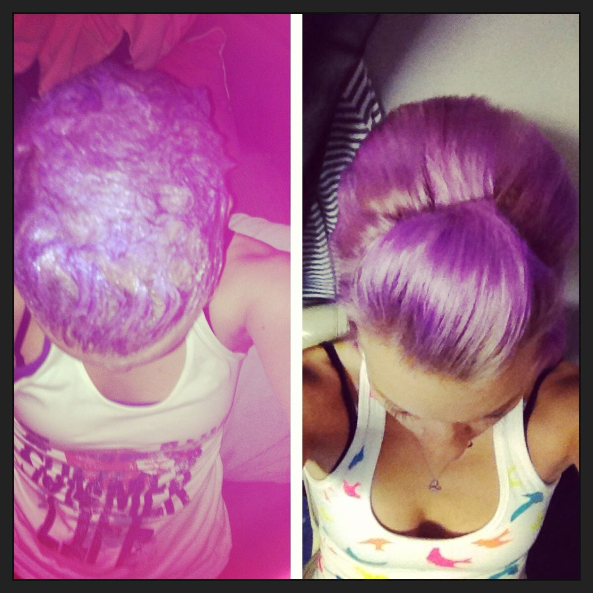 Joico Color Intensity Dash Of Pink And Purple Mixed With