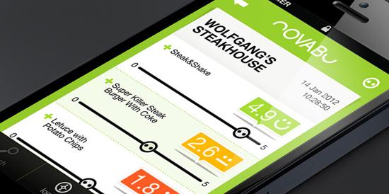 Novabu Mobile UI by Liat Abadi. 30 Beautiful Mobile UI Examples. #mobile #UI #design #inspiration