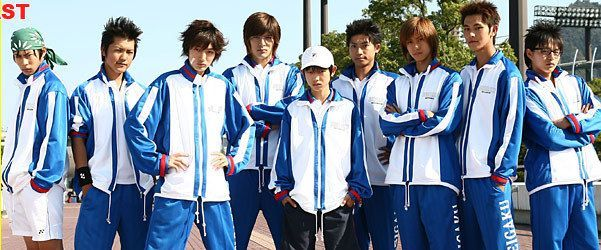 Prince Of Tennis The Movie Japanese Version Love Film Drama Movies The Prince Of Tennis