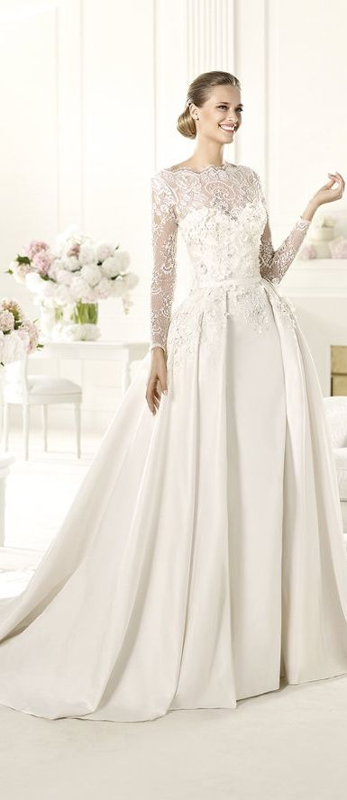 e28133fd935d7 Pronovias Wedding Dress - 2014 Elie By Elie Saab - MONET (Style 3/10 ...
