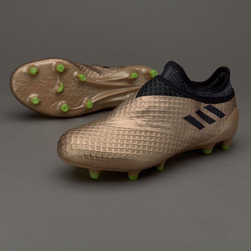 a7799ae0978 adidas Kids Messi 16+ Pureagility FG - Copper Metallic/Core Black ...