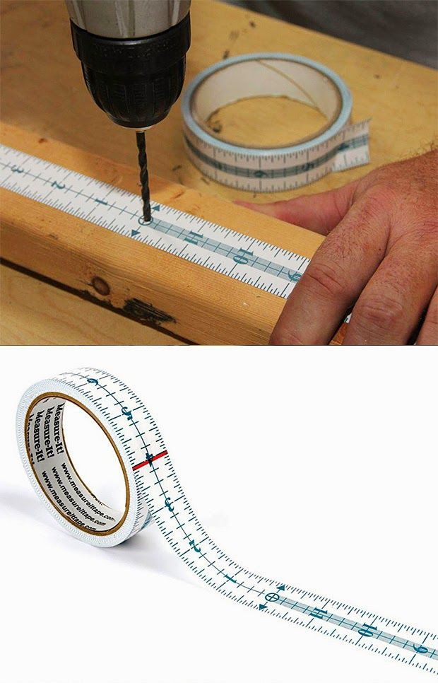 Measure It Self Adhesive Tape Ideias Para Oficinas Fita Adesiva Bancada De Trabalho
