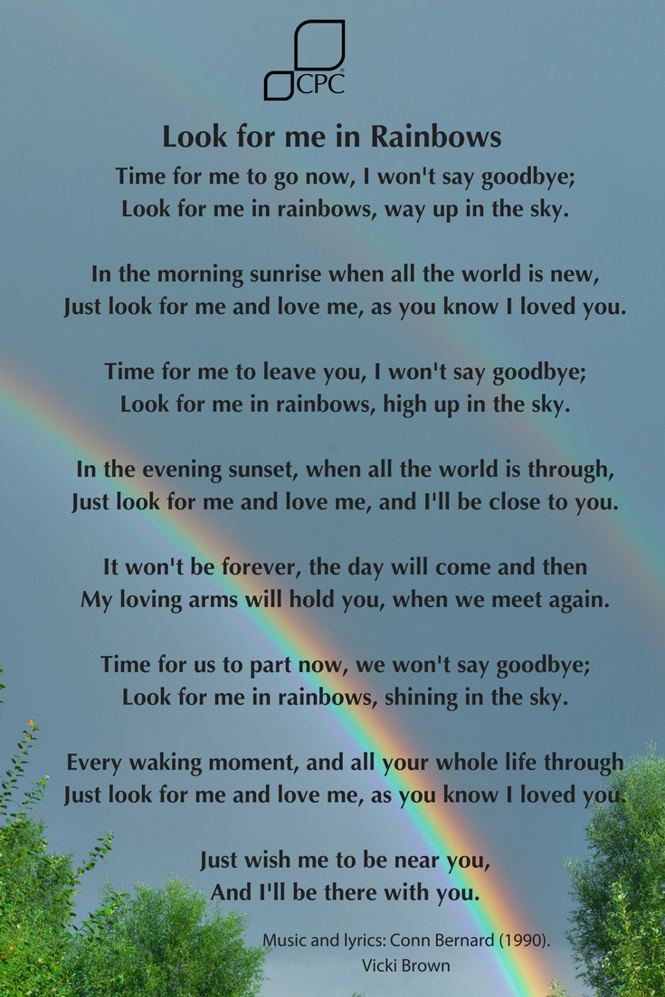 look for me in rainbows dog loss quotes inspirational horse
