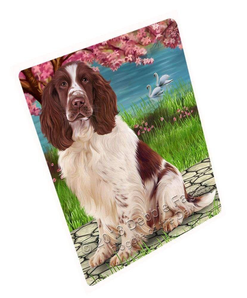 Springer Spaniel Dog Blanket Blnkt110280 Dog Blanket Spaniel Dog Springer Spaniel