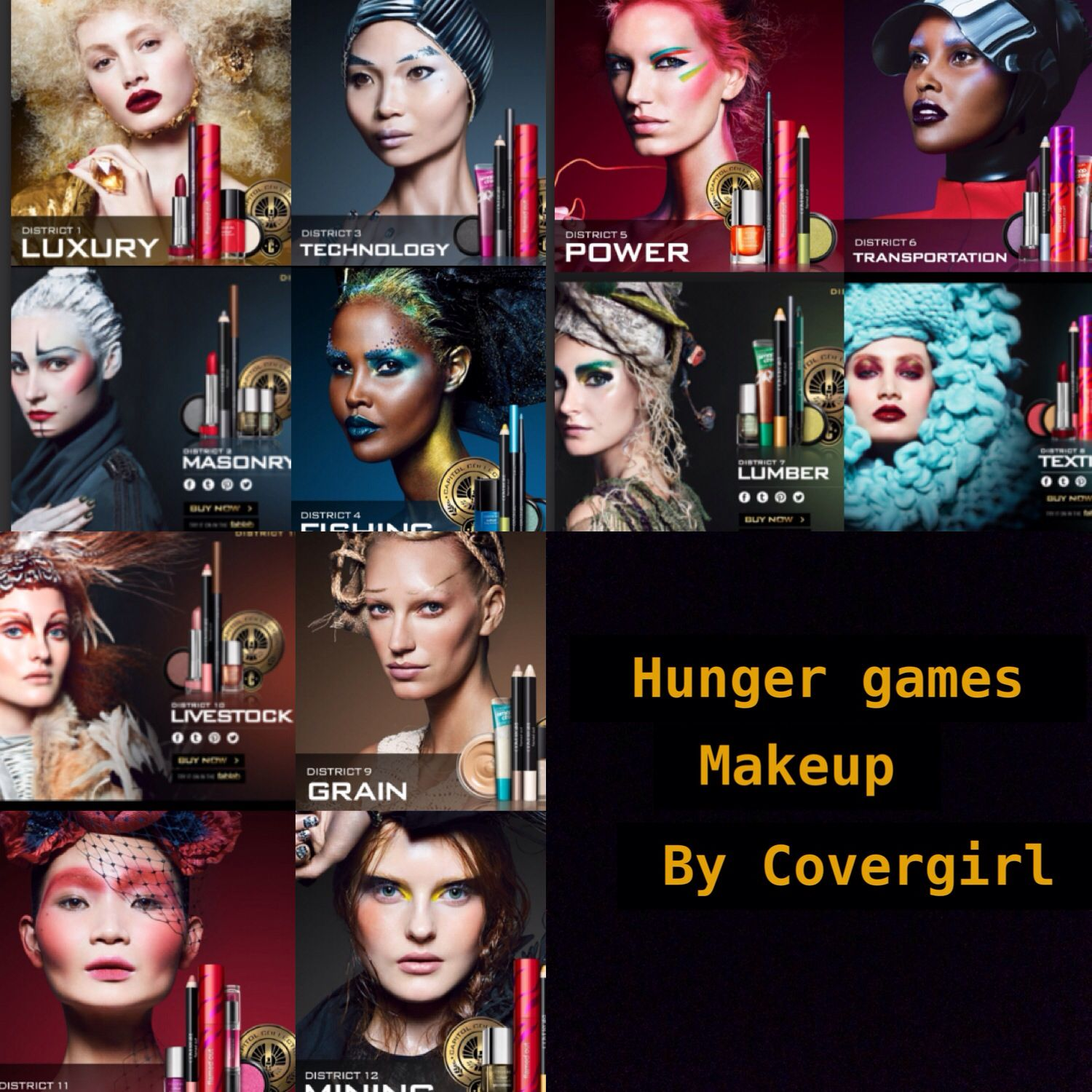 Covergirl Capitol Collection Glosstinis For Catching: Hunger Games Makeup! From Covergirl