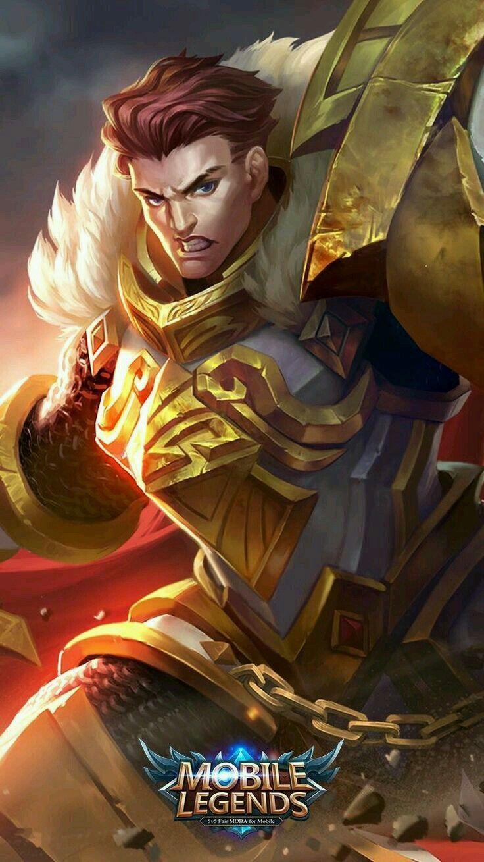 Tigreal_Warrior of Dawn Mobile legend wallpaper, Mobile