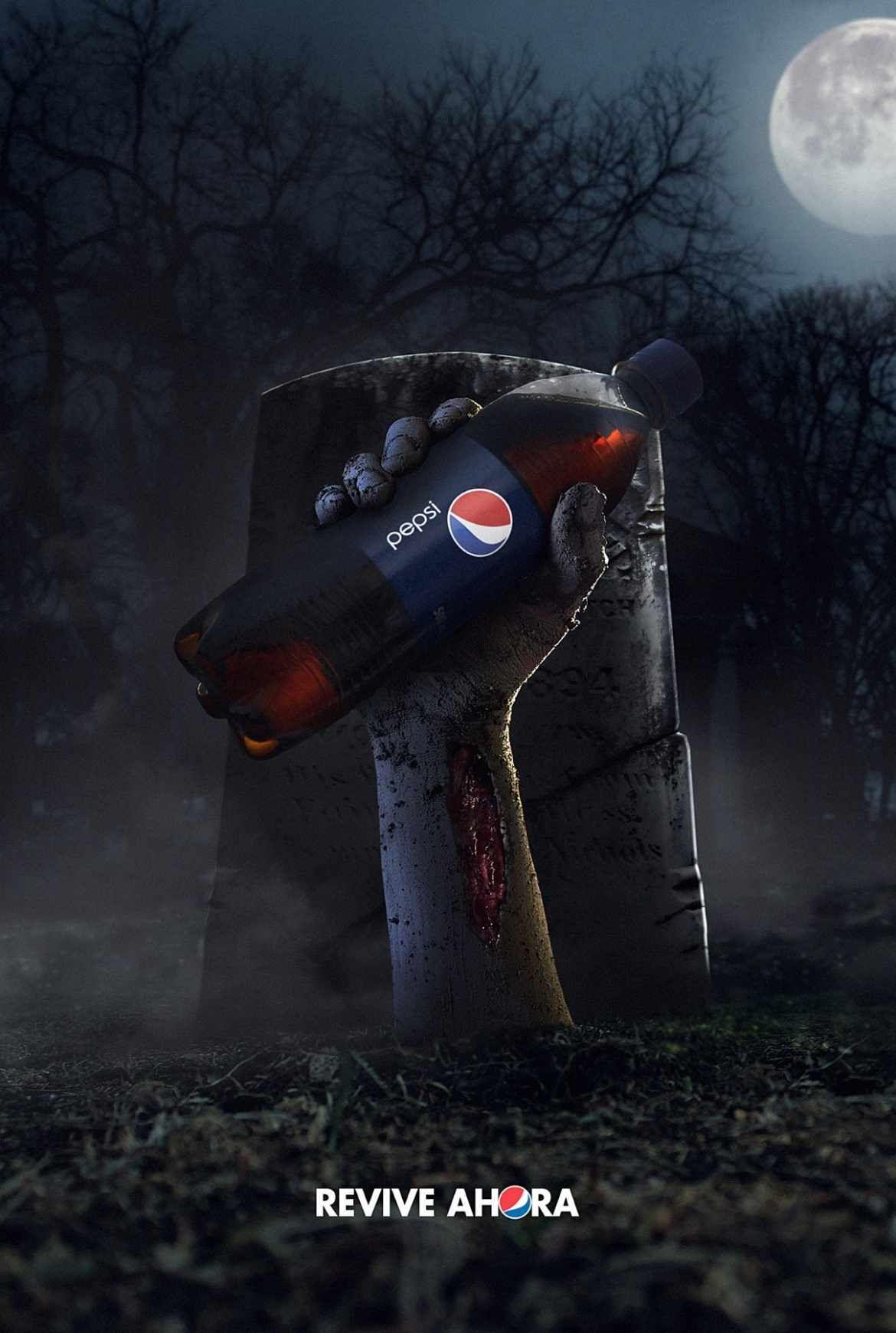 The best Halloween ads | Ads of the World™ | du trépas mais pas ...
