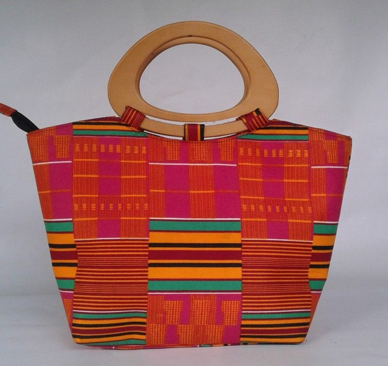 TOLA KENTE ANKARA BAG