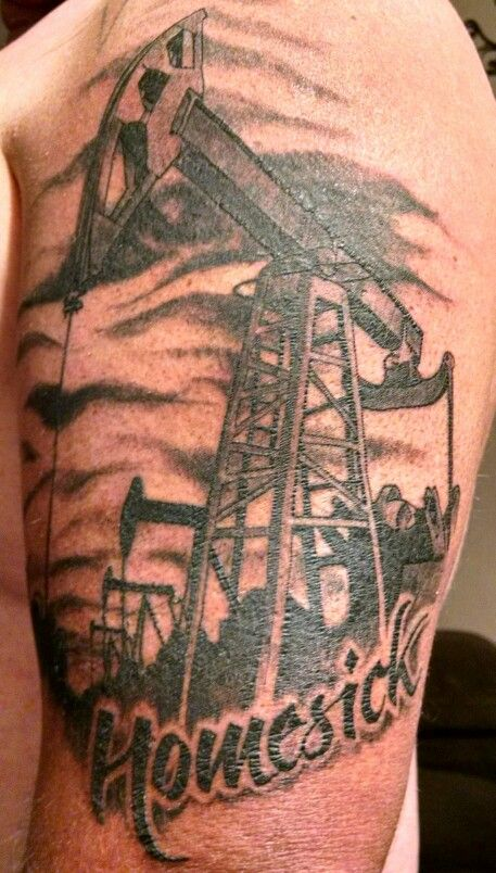 my oilfield tattoo it 39 s not just a job it 39 s a lifestyle tattoos pinterest tattoo. Black Bedroom Furniture Sets. Home Design Ideas