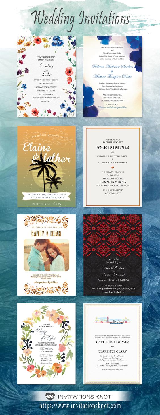Wedding invitations save the dates diy wedding invitations