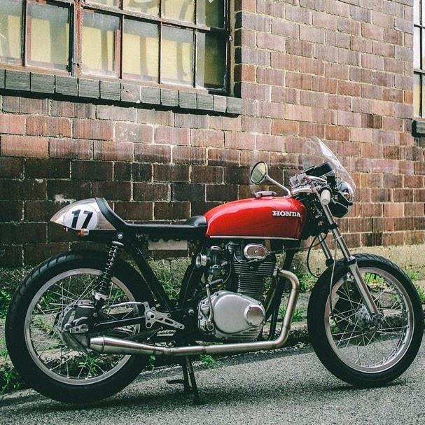 Caferacerxxx On Cafe Racer Motorcycle Honda 125 Motorcycle