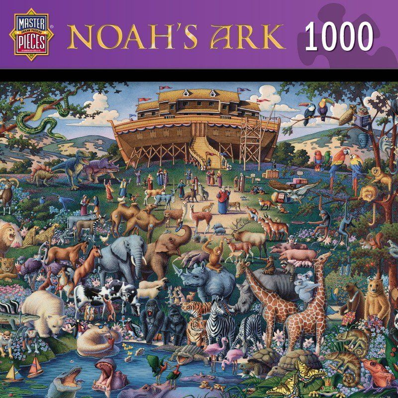 Noah's Ark - 1000 Piece Jigsaw Puzzle