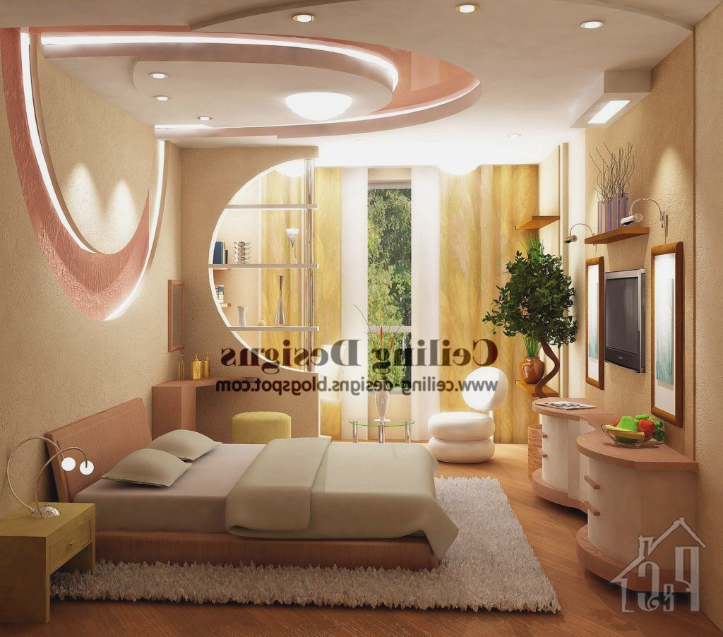 Bedroom Gypsum Ceiling Design Kerala (With images ...