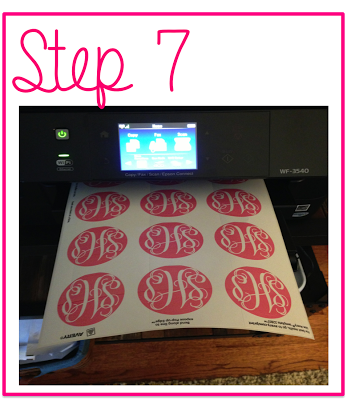 How To Make Monogrammed Stickers Crafts Fun Crafts