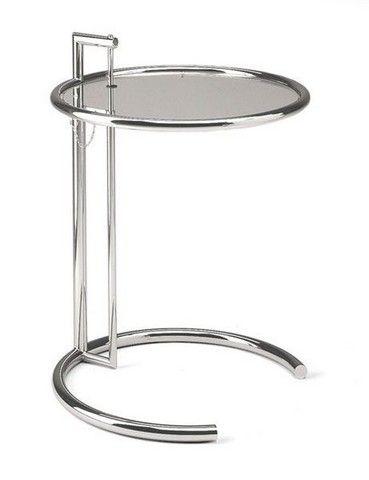 Classic MCM Eileen Gray E 1027 Adjustable Table, Circa 1927