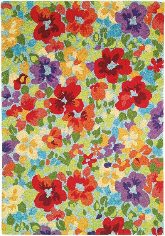 This Fl Rug Is So Pretty Company C Giverny 18568 Multi Area