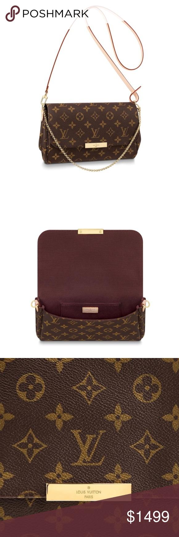 b68dee2712b Louis Vuitton Favorite MM Bag  NEW Sept. 2018  NWT   My Posh Picks ...