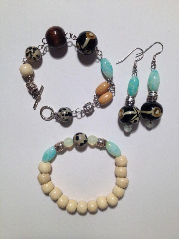 natuurstenen sieraden