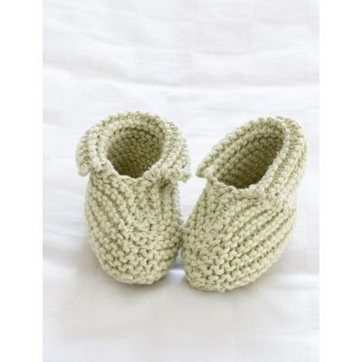 Free Beginner Babys Booties Knit Pattern Free Knit Baby Patterns