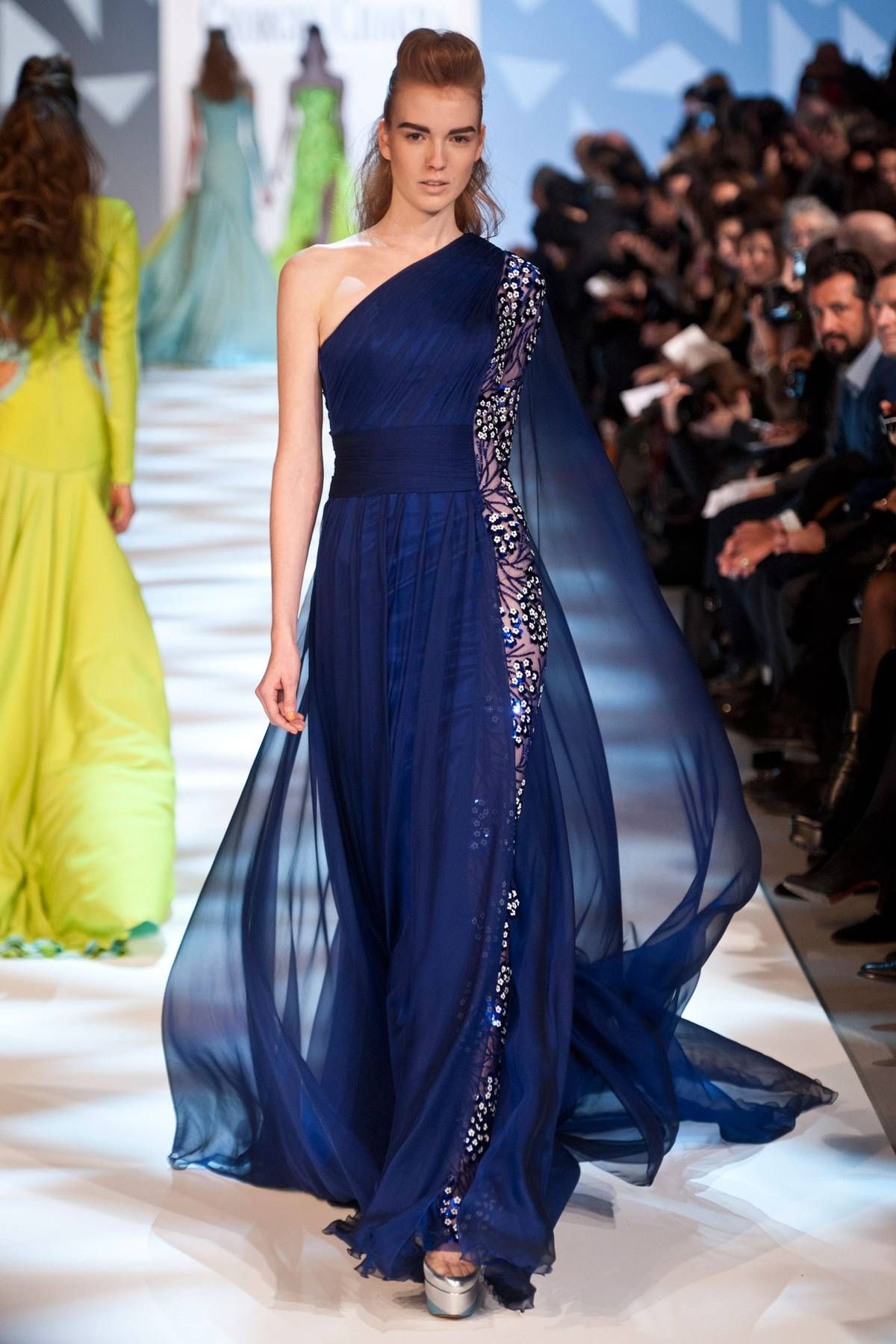 oh, WOW- this is incredible! Georges Chakra Spring 2013 Couture Collection - Fashion on TheCut