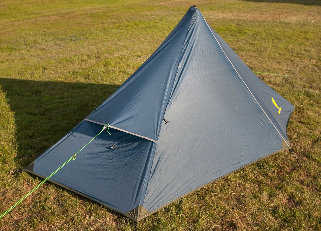 Ultralight Backpacking Tent - Pyramid Tent - 1 Person & Ultralight Backpacking Tent - Pyramid Tent - 1 Person | Hiking ...