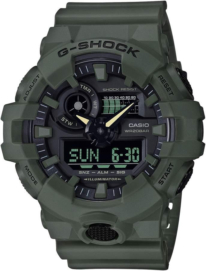 G Shock Baby G Military Ana Digi Watch 53mm G Shock Watches G Shock Casio G Shock