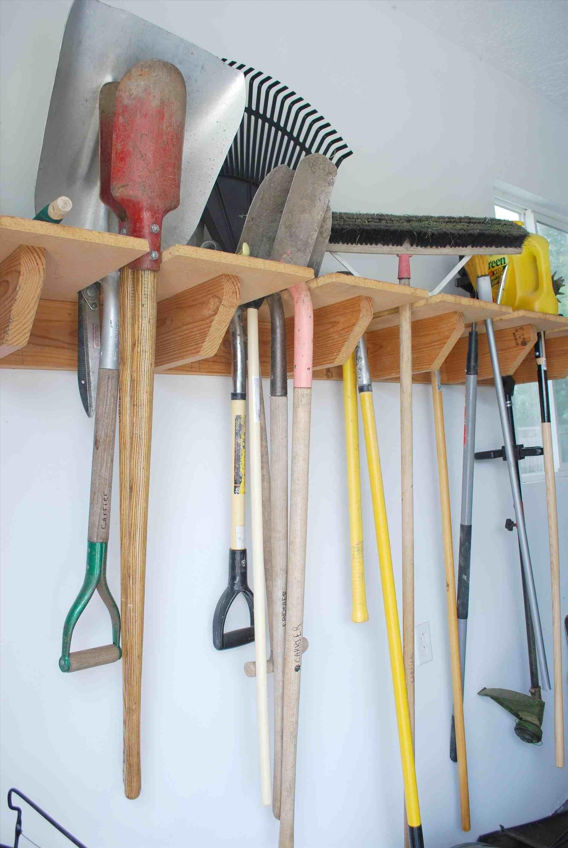 14 creative diy garden tool storage ideas garden tool