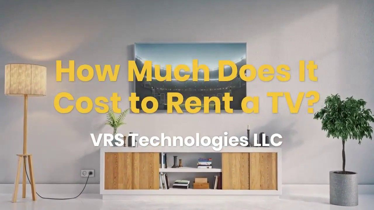 How Much Does It Cost To Rent A Tv Led Tv Tv Smart Tv