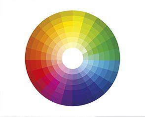 Us el c rculo crom tico para crear esquemas de colores de - Gama colores frios ...