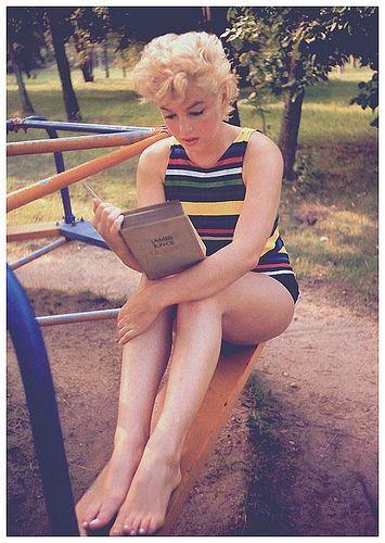 Como Os Livros Podem Salvar Sua Vida Fotos Marilyn Monroe