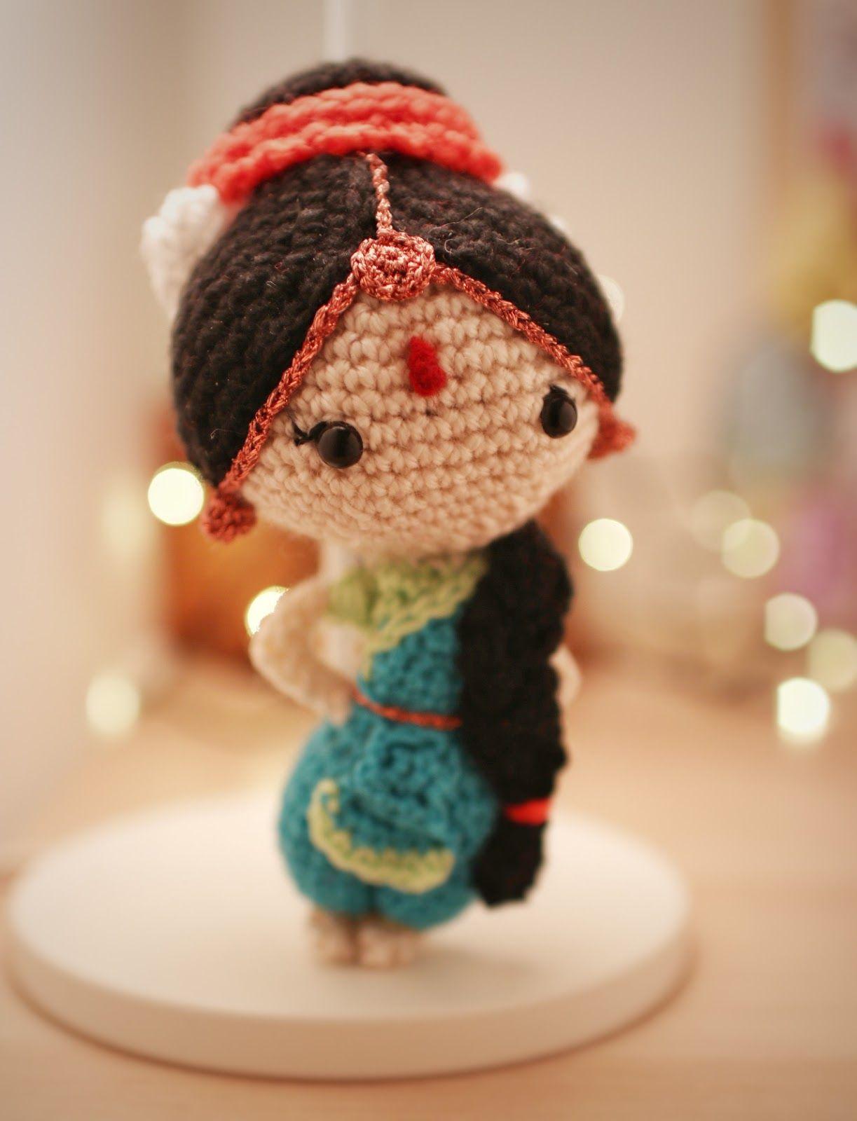 Malini the Bharatnatyam Dancer Free Amigurumi Pattern #crochet ...