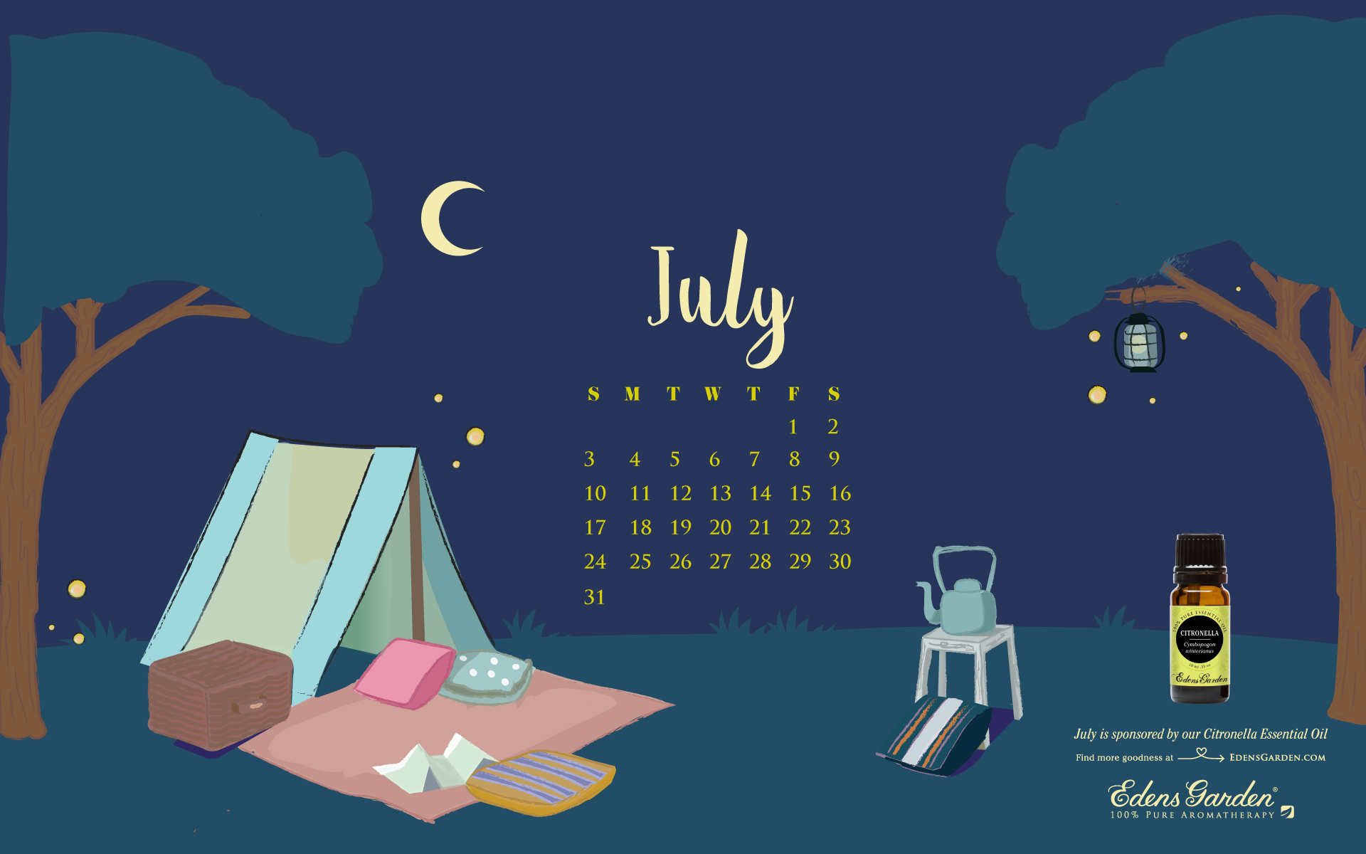 Here we are, already in July! The year is a little past halfway over and there's still plenty of fun to be had. Keep track of your summer vacation plans, lunch