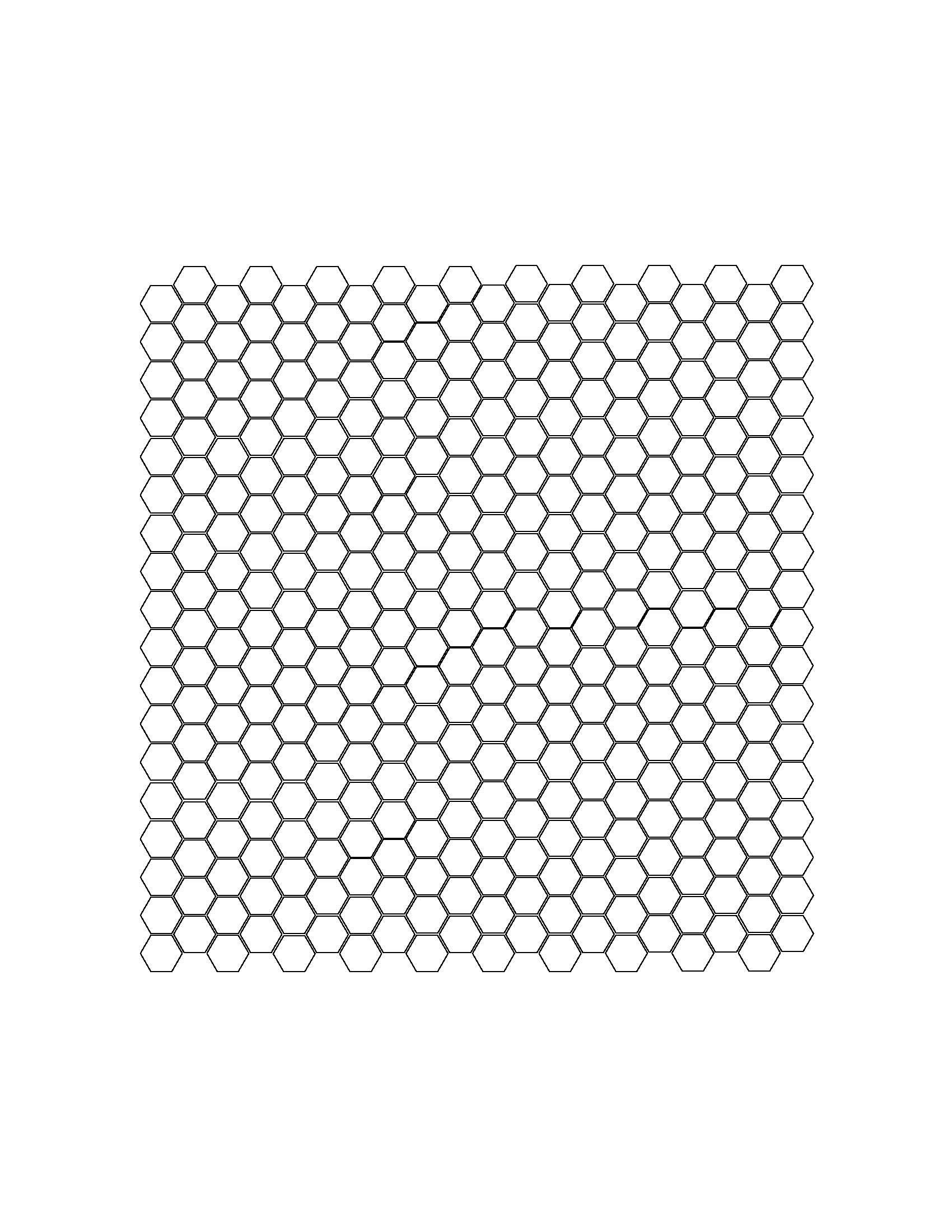 Hex Tile Template