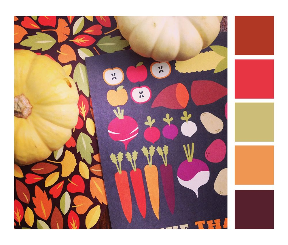 Fall Color Schemes Autumn Color Scheme For Your Holiday Festivities  Color Lovers